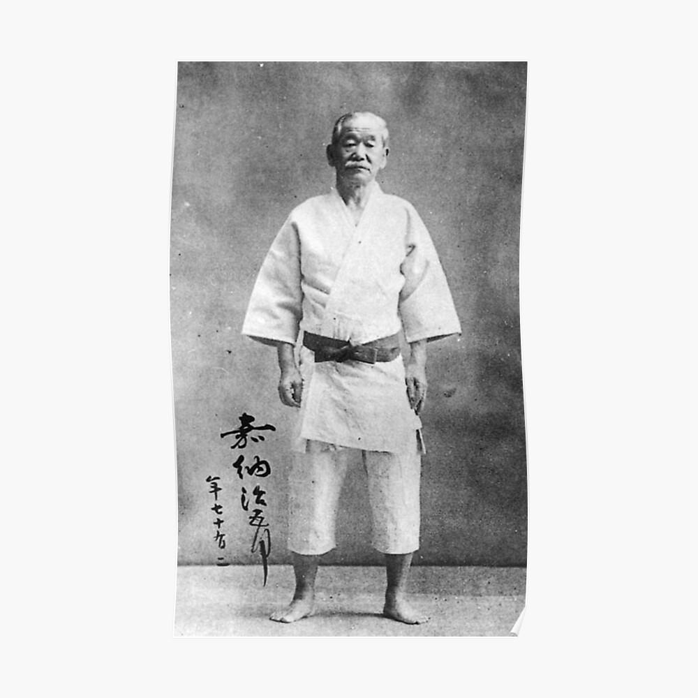 Jigoro Kano Judo Póster