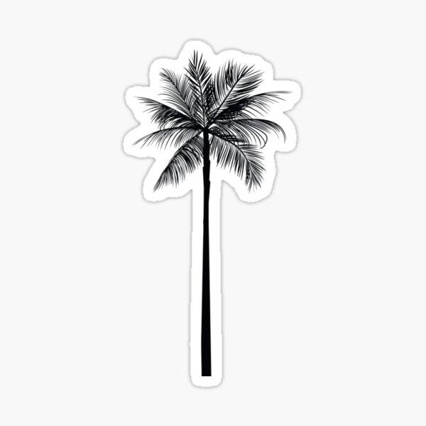 Tumblr// Palm tree Sticker