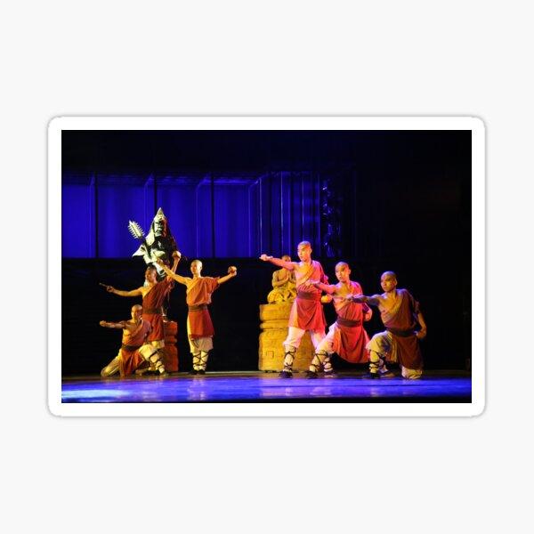 Chinese Kung Fu Performance Sticker