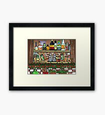 Unseasonable Greetings Framed Print