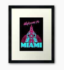 Welcome to Miami - I - Richard Framed Print