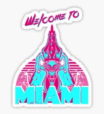 Welcome to Miami - I - Richard Sticker