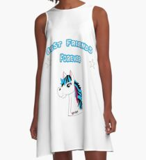 Best Friends forever A-Linien Kleid