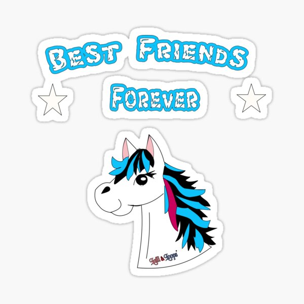 Best Friends forever Sticker