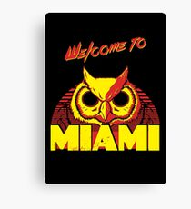 Welcome to Miami - III - Rasmus Canvas Print