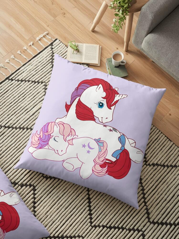 retro g1 my little pony moondancer and baby\