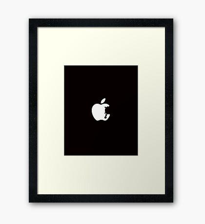 Dalek Apple Framed Print