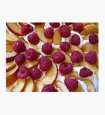 Fruit Pudding Photographic Print