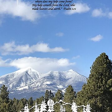 Forest Peak Retreat, Flagstaff Image with verse by sdawsoncc