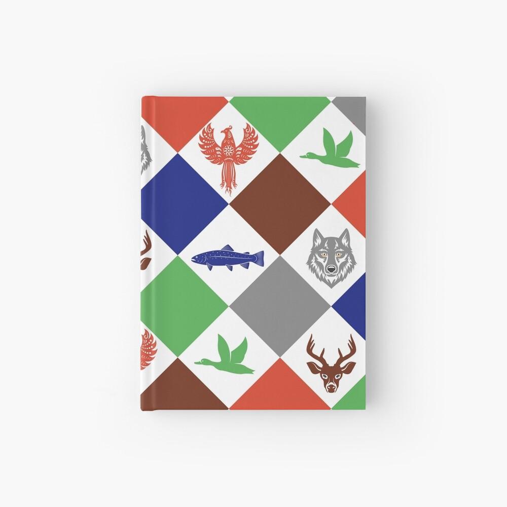 Kiste der Freuden: Wildes Holz Notizbuch