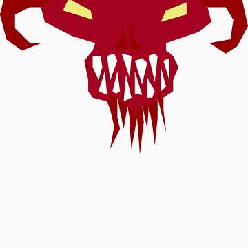 Demon Head by lardtech69