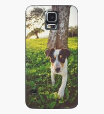 dog cell phone cover  cell phone protector tree Earth cute Case/Skin for Samsung Galaxy