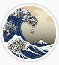 Great Wave of Loaf  Sticker