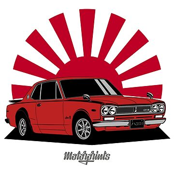 2000 GT-R (red) by MotorPrints
