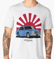 2000 GT-R (blue) Men's Premium T-Shirt