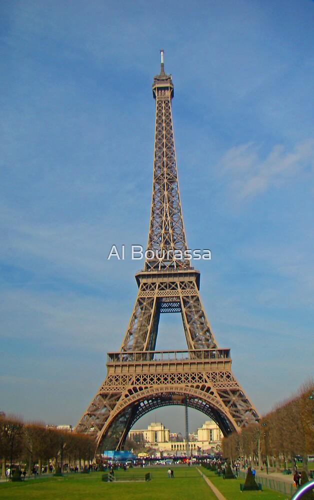 Tour Eiffel II by Al Bourassa