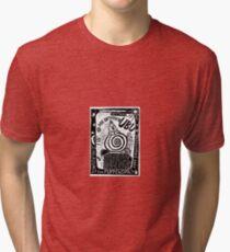 Abstract Constructivism Bauhaus Tri-blend T-Shirt
