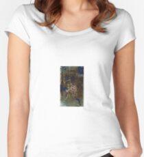 Abstract Constructivism Bauhaus Women's Fitted Scoop T-Shirt