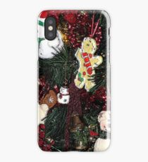 Christmas Decorations on Tree iPhone Case