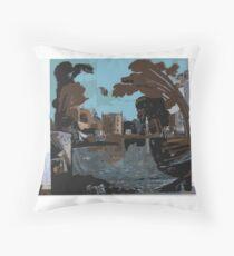 Abstract Constructivism Bauhaus Throw Pillow