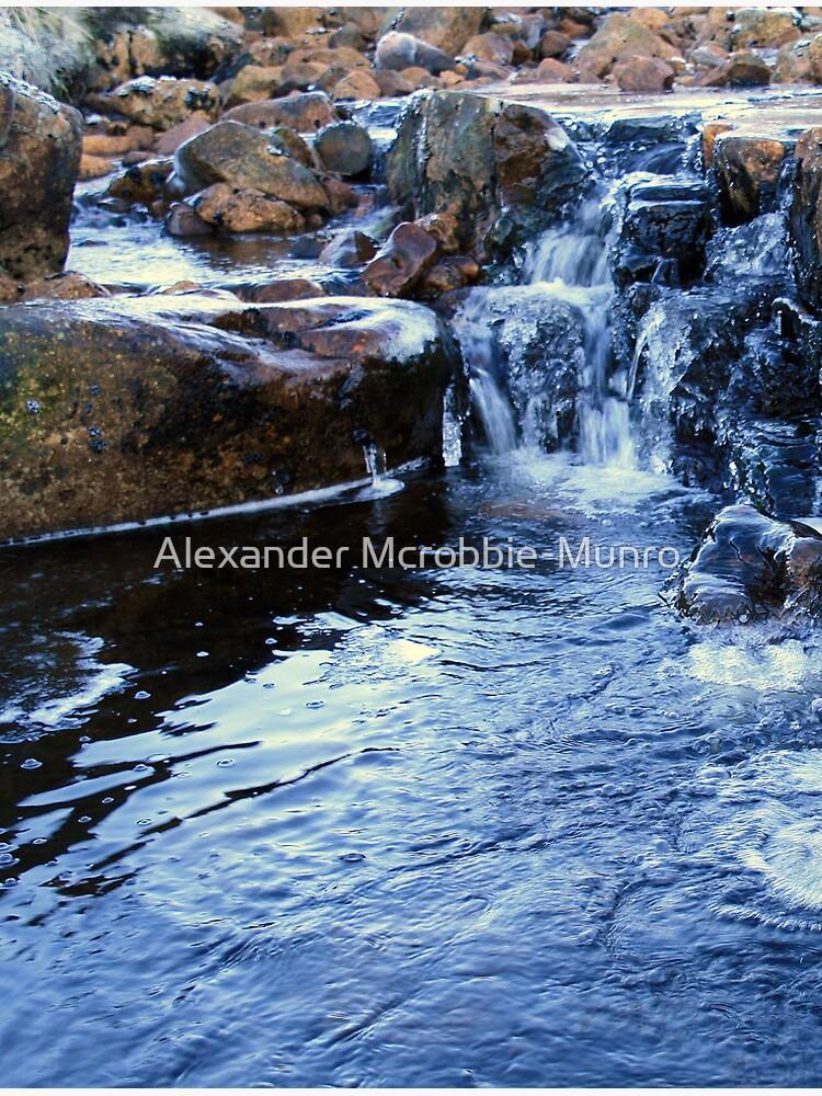 Frozen Blue by Alexanderargyll