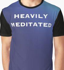 Camiseta gráfica Muy meditado!