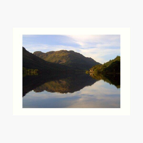 Loch  Eck Art Print
