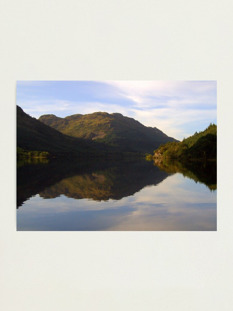 Alternate view of Loch  Eck Photographic Print