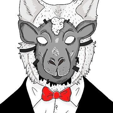 WOLF MASK by YepVans