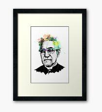 Oscar Romero Portrait Art Framed Print