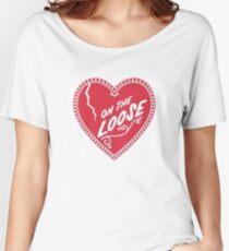 Camiseta ancha para mujer OTL Heart