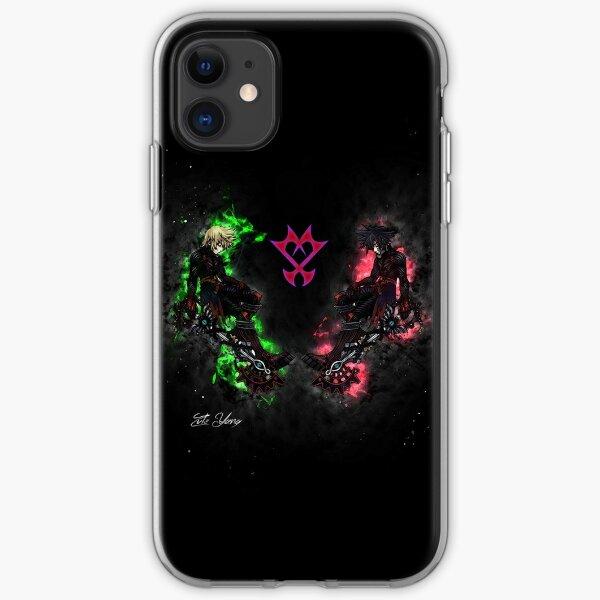 Kingdom Hearts: Ventus VS Vanitas iPhone Soft Case