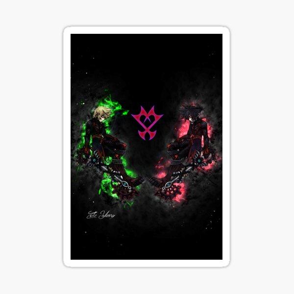 Königreich-Herzen: Ventus VS Vanitas Sticker
