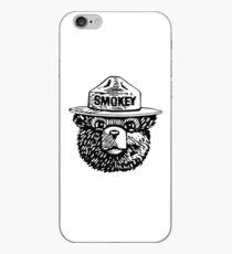 Smokey Schwarz und Weiß iPhone-Hülle & Cover