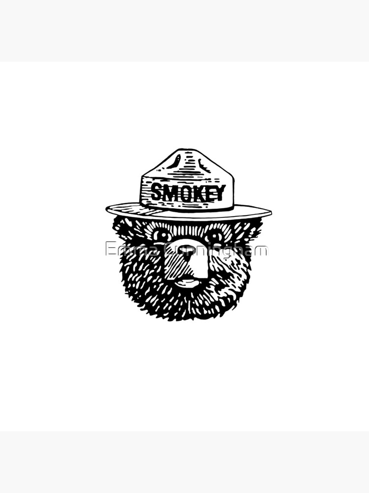 Smokey Blanco y Negro de emmajcunningham