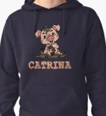 Sudadera con capucha Catrina Piggy