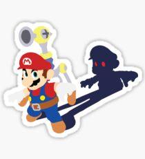 Mario's Shadow Sticker