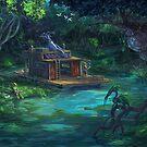 The Waterway by LauralienArt