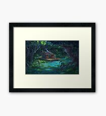 The Waterway Framed Print