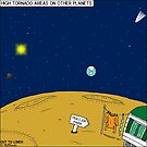 High Tornado Areas on Other Planets - Trailer Parks by Rich Diesslin