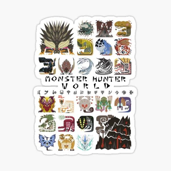 Monster Hunter World Sticker