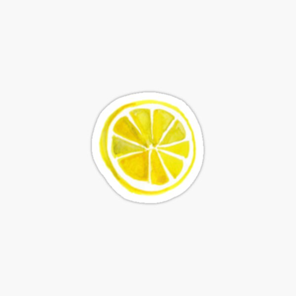 little lemon Sticker
