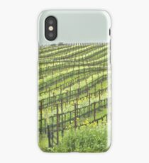 Spring Arrives at the Vineyard iPhone Case