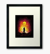 Born Of Fire Framed Print