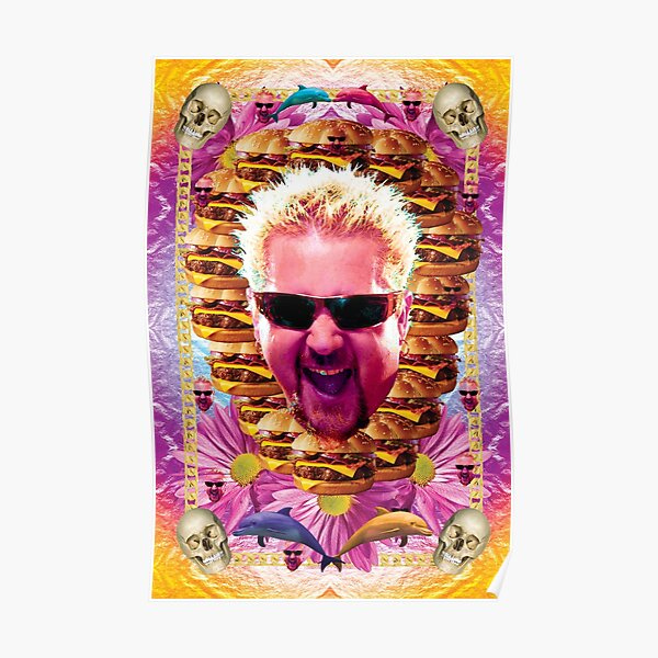 It is a picture of Wild Guy Fieri Drawing