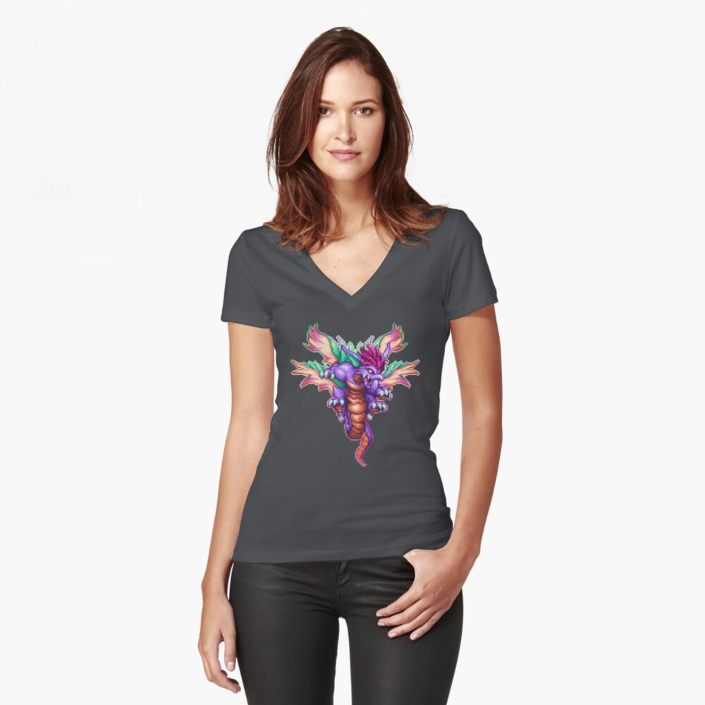 Beast Mana Fitted V-Neck T-Shirt