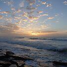 Surfers Sunrise at Red Bluff by Debbie  Blennerhassett