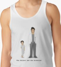 The Subject and the Scientist (Hopeful Look) Men's Tank Top