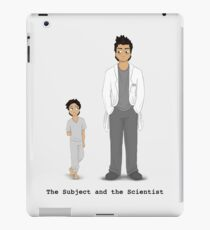 The Subject and the Scientist (Hopeful Look) iPad Case/Skin