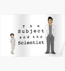 Another The Subject and the Scientist Piece Poster